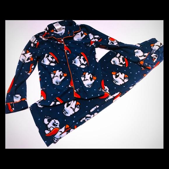 Komar Kids Yeti Flannel-y Pajamas Size Small